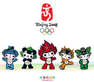 北京 2008 mascots..