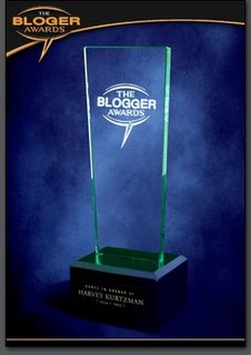 Award: Blogger Trophy