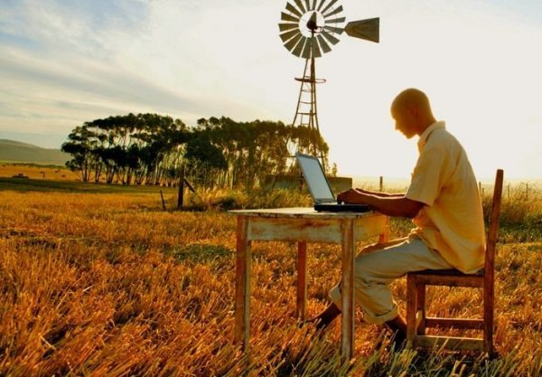 Internet usage in rural areas