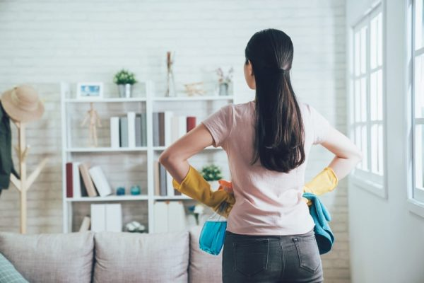 What is the effect on clutter in your house?